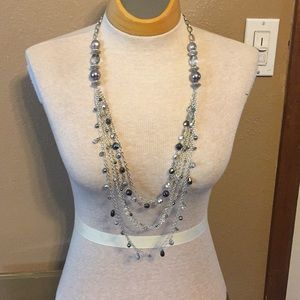 Coldwater Creek crystal beaded necklace